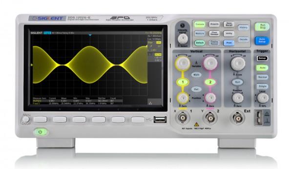 Siglent SDS1202X-E Osciloscopio Digital 200MHz