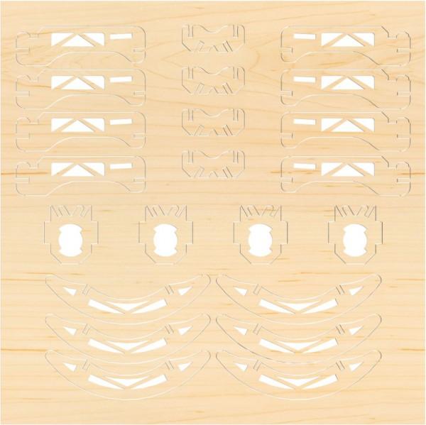 Airwood F201 Estructura de madera NINJA
