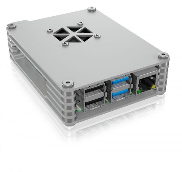 ICY Box IB-RP109 Caja protectora para Raspberry Pi® 4