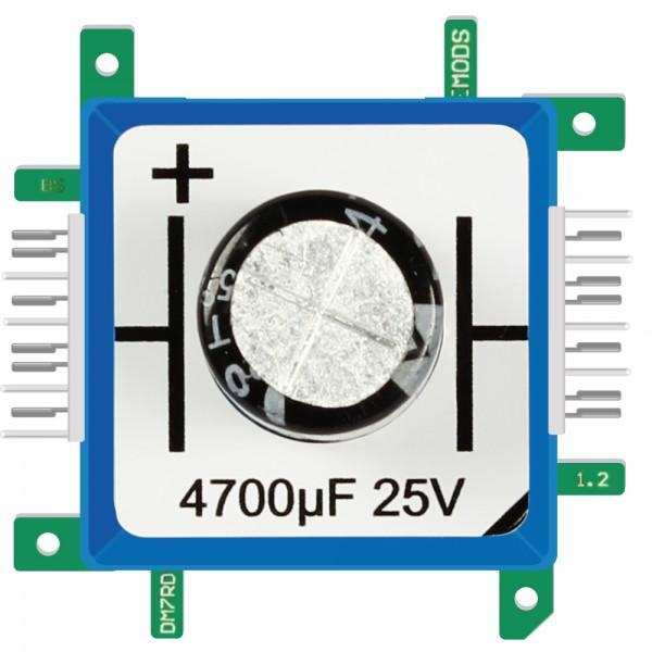 Brick'R'knowledge Condensador 4700µF 25V