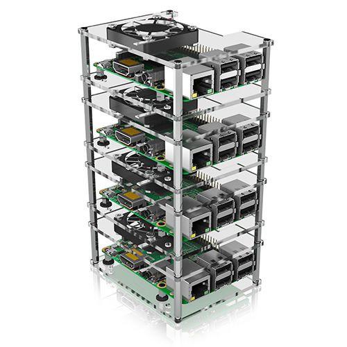 ICY Box IB-RP406 Carcasa para Raspberry Pi 2, 3 y 4
