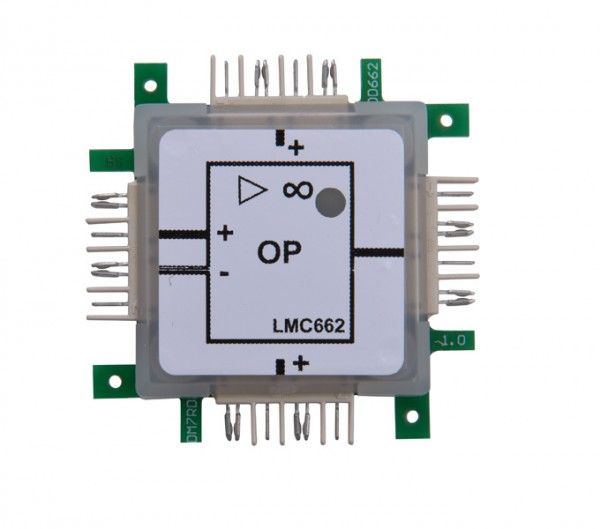 ALLNET Brick'R'knowledge Amplificador operacional LMC662
