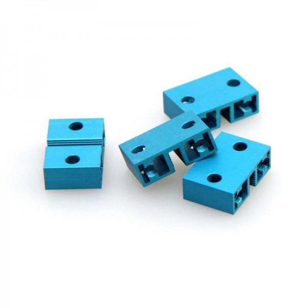 Makeblock Viga deslizadora 0824-016-Azul (Pack de 4)
