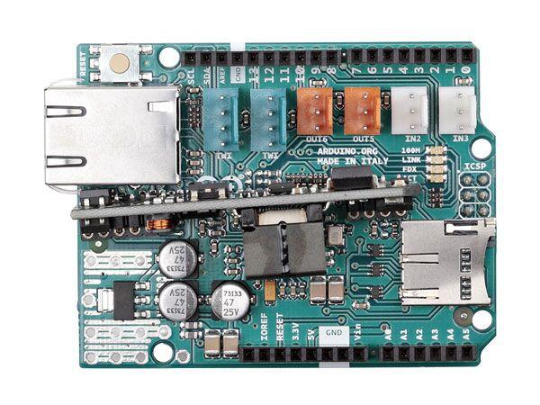 Arduino® ETHERNET Shield 2 con PoE
