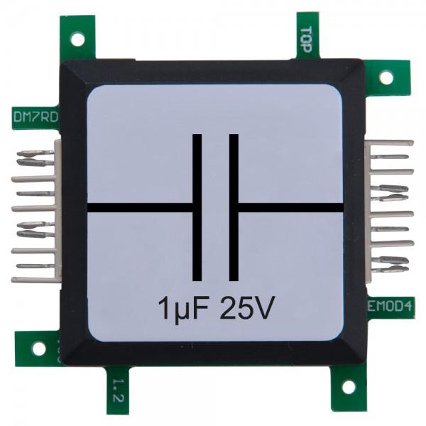 Brick'R'knowledge Condensador 1µF 25V