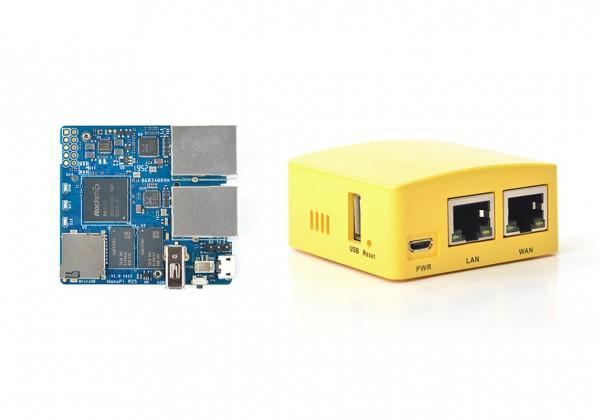 FriendlyELEC NanoPi R2S Versión 1GB RK3328 Combo