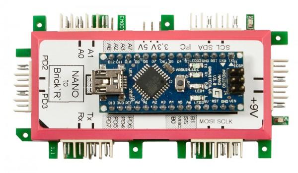 Brick'R'knowledge Adaptador Arduino Nano
