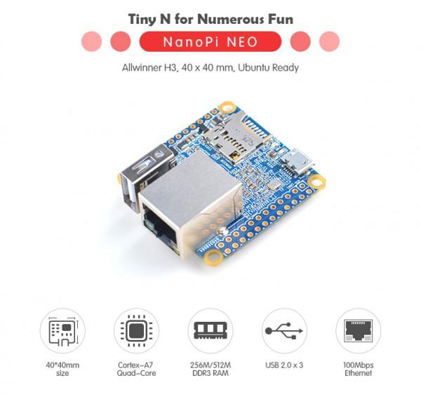 FriendlyELEC NanoPi Neo LTS - 512MB