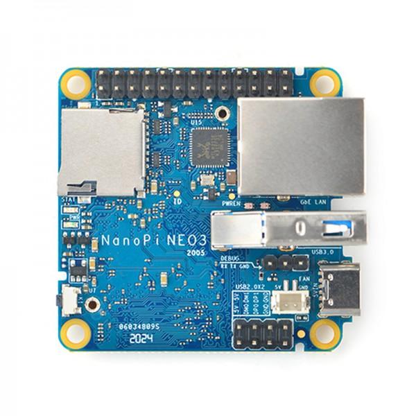FriendlyELEC NanoPi Neo3 1GB DDR4 RAM