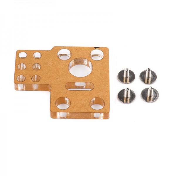 Makeblock Soporte del motor con engranaje helicoidal A(PMMA)