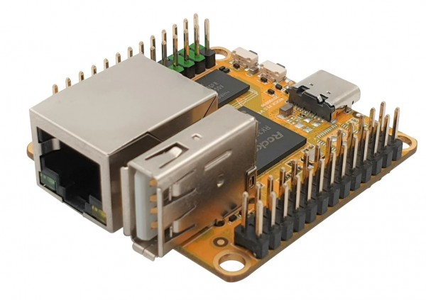 Rock Pi S Modelo 256 MB, sin Bluetooth & WiFi
