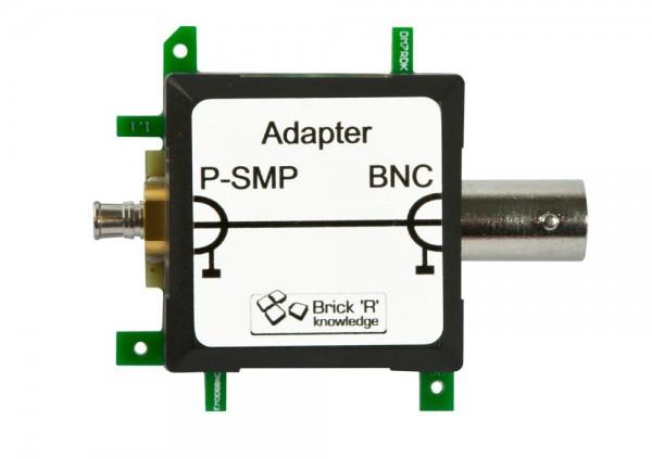 Brick'R'knowledge Adaptador MHz P-SMP a BNC