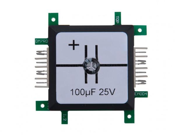 ALLNET Brick'R'knowledge Condensador 100µF elko 25V