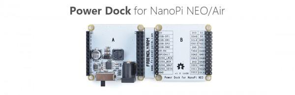FriendlyELEC Power Dock para NanoPi Neo
