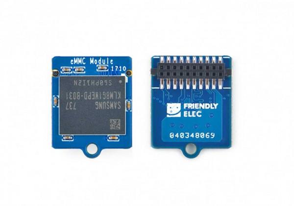 FrienlyELEC Módulo eMMC 32GB para Booting OS sin Adapt-SD