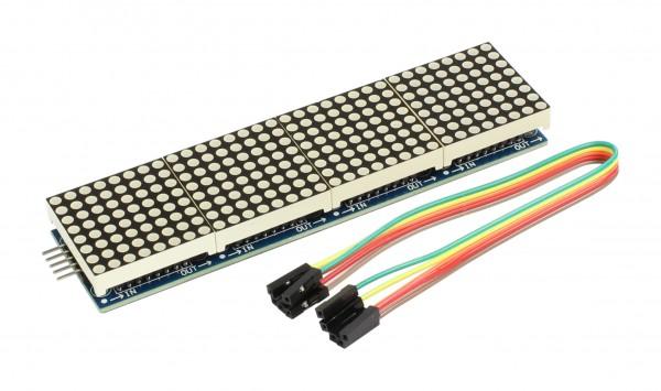 4duino Módulo LED DOT Matrix 4 en 1