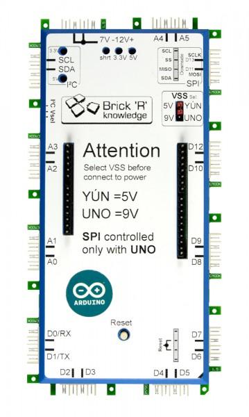 ALLNET Brick'R'knowledge Arduino Brick para UNO y YUN