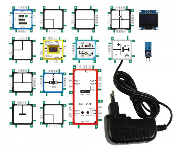 "ALLNET Brick'R'knowledge ""Internet of Things"" Set IoT (English/Englisch)"