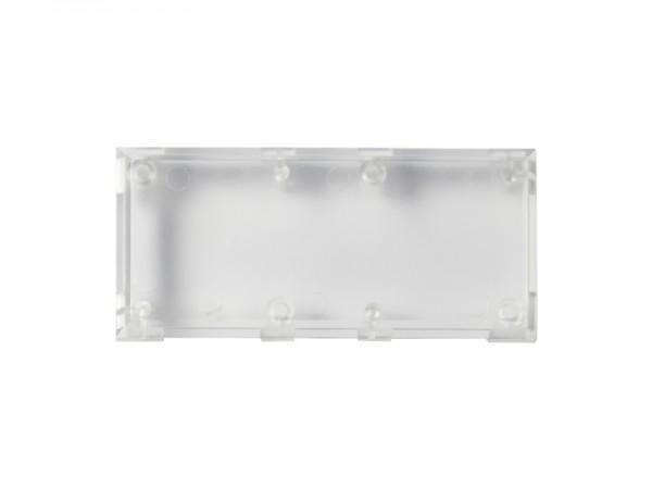 ALLNET Brick'R'knowledge Carcasa transparente 2x1, 10 uds