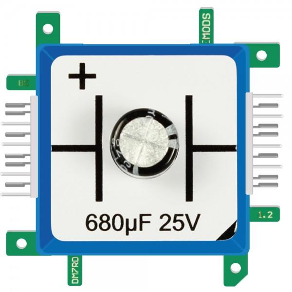 Brick'R'knowledge Condensador 680µF 25V