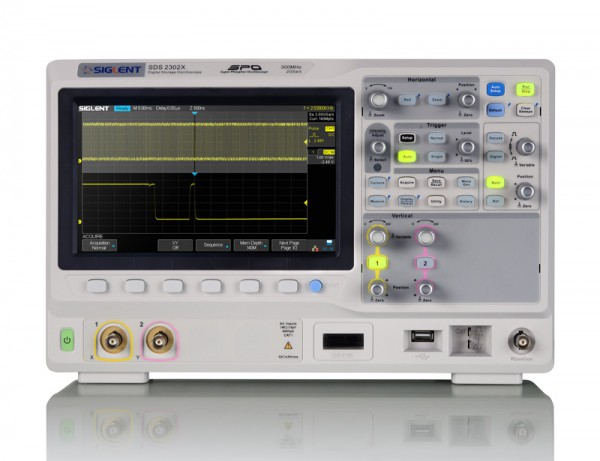 Siglent SDS2072X Osciloscopio de 2 canales