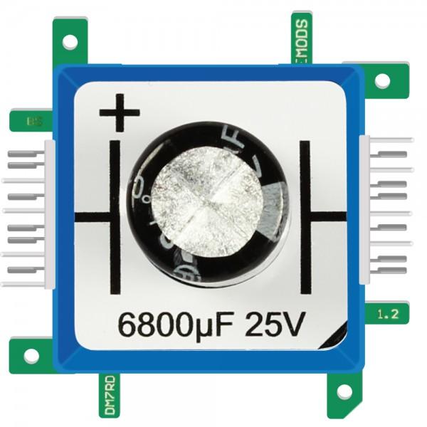 Brick'R'knowledge Condensador 6800µF 25V