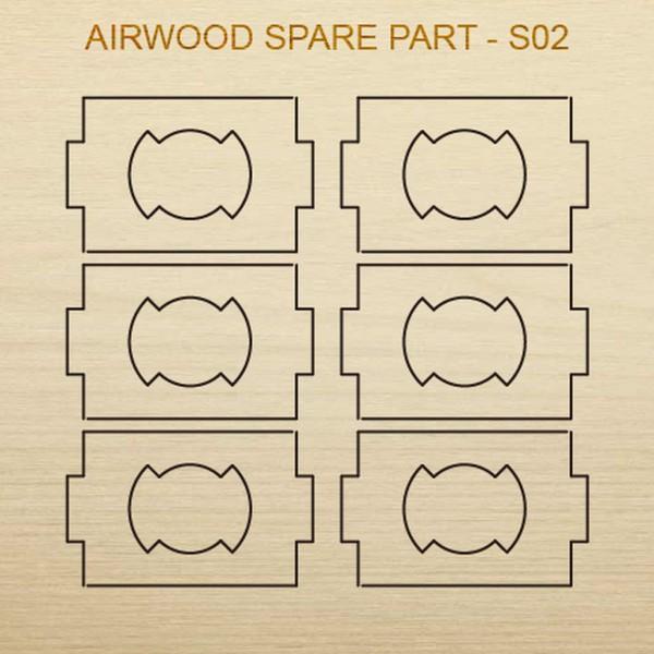 Airwood W20402 Recambio de madera S02