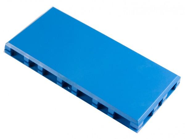 Brick'R'knowledge Carcasa de plástico azul