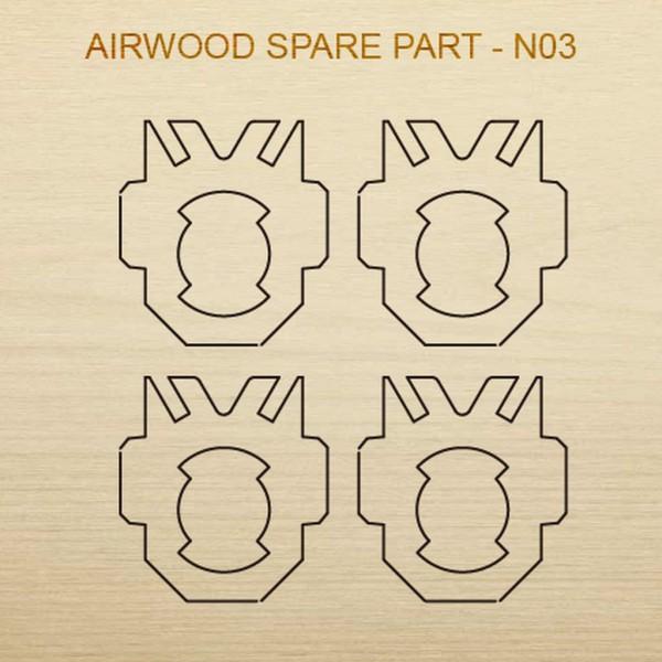 Airwood W20203 Recambio de madera N03