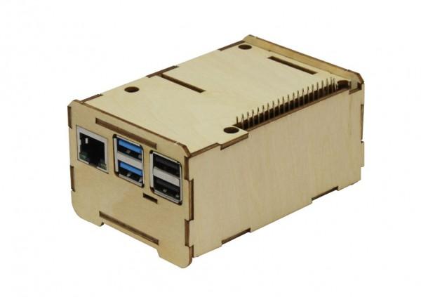 Rock Pi 4 Caja de madera Eco Easy