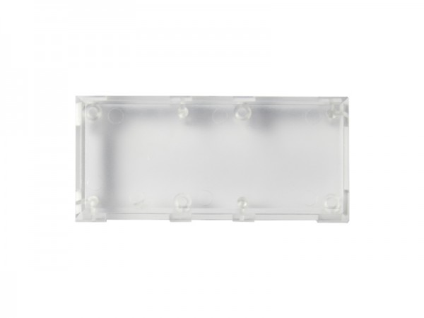 ALLNET Brick'R'knowledge Carcasa transparente 2x1, 10 uds