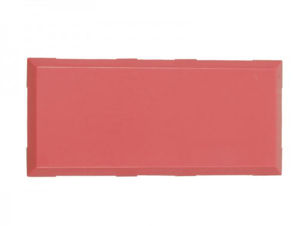 ALLNET Brick'R'knowledge Carcasa roja 2x1 Pack de 10uds