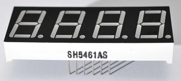 4duino Display LED 4-Dígitos 7-Segmentos