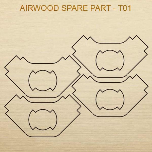 Airwood W20301 Recambio de madera T01
