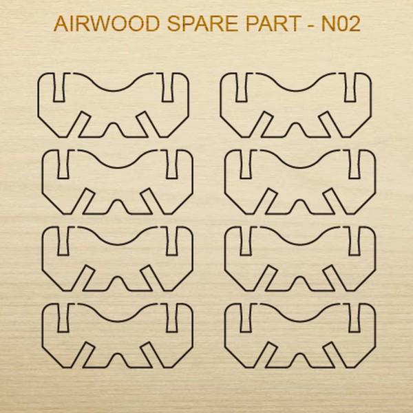 Airwood W20202 Recambio de madera N02