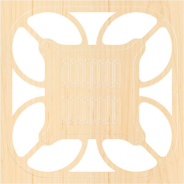 Airwood F202 Estructura de madera CUBEE