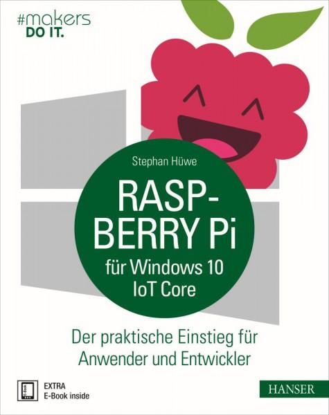 """""""Raspberry Pi für Windows 10 IoT Core"""" Hanser Verlag Buch - 192 Seiten inkl. E-Book"""