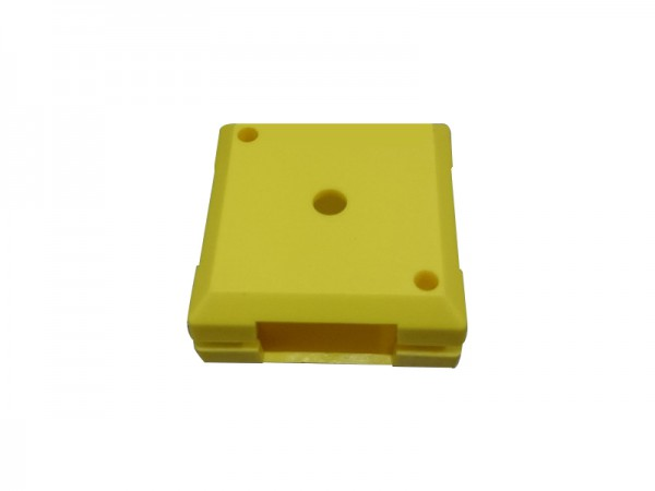 ALLNET Brick'R'knowledge Carcasa de plástico amarillo, 10uds