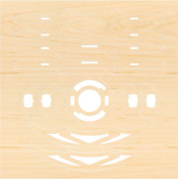 Airwood F203 Estructura de madera TAIJI