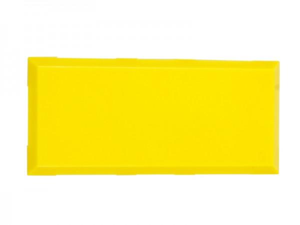 ALLNET Brick'R'knowledge Carcasa amarillo 2x1 Pack de 10uds
