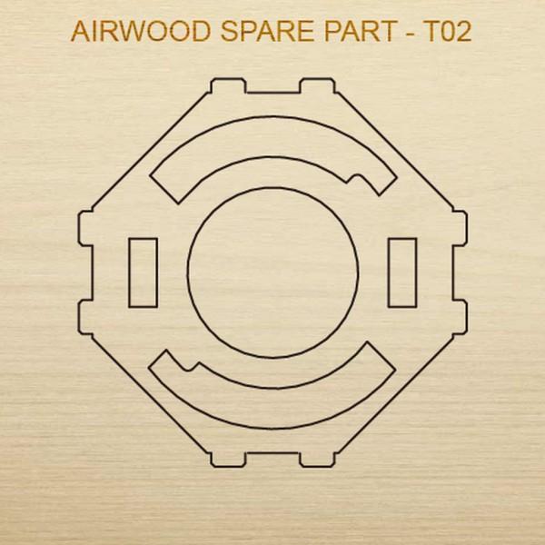 Airwood W20302 Recambio de madera T02