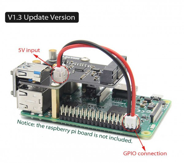 Raspberry Pi Módulo de expansión para Modelo B+
