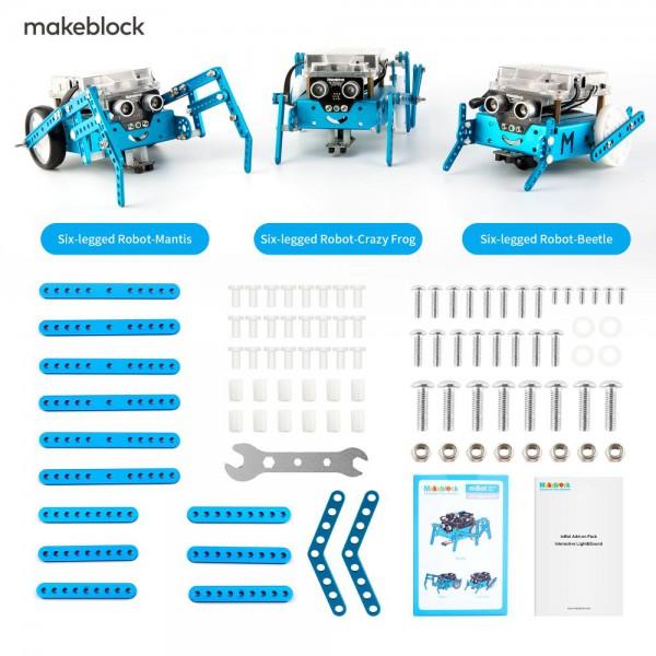 Makeblock 98050 mBot Add-on Pack Seis Patas