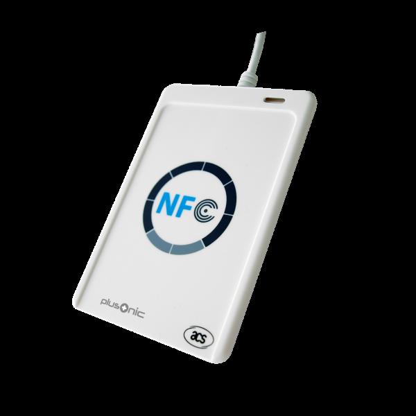 Plusonic Lector de tarjetas NFC USB
