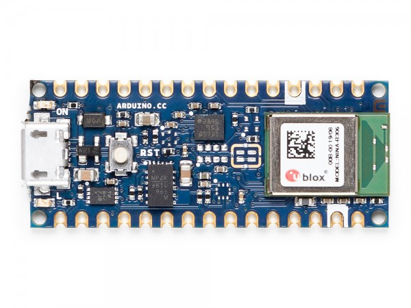 Arduino® ABX00035 Nano 33 Sense BLE con cabezales