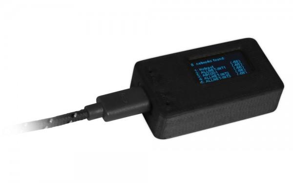 ALLNET 4duino IoT WLAN display case black printed