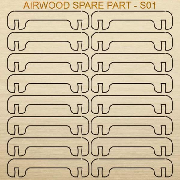 Airwood W20401 Recambio de madera S01