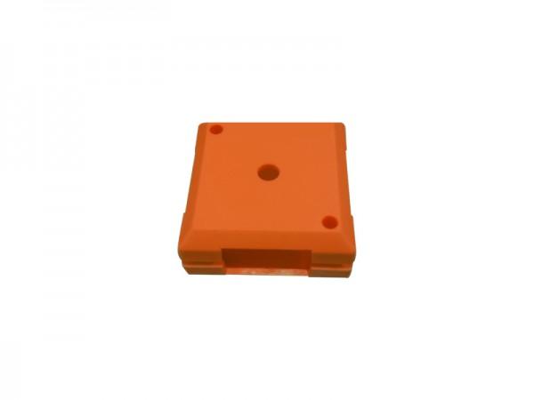 ALLNET Brick'R'knowledge Carcasa de plástico naranja, 10uds