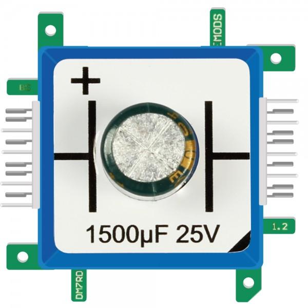 Brick'R'knowledge Condensador 1500µF 25V