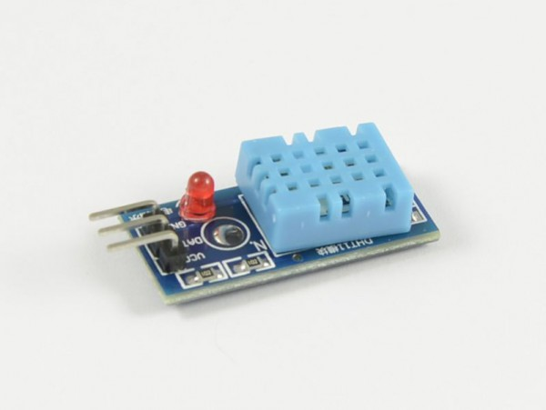 4duino Sensor humedad/temperatura con LED DHT11